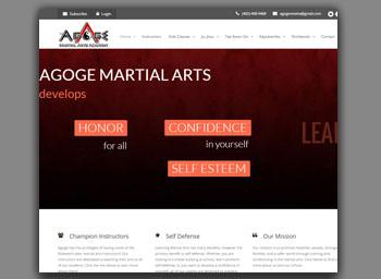 agoge martial arts portfolio image
