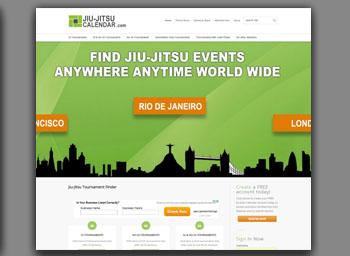 jiu jitsu calendar website portfolio item