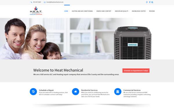 heat mechanical website